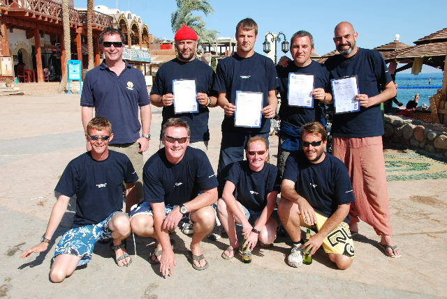 Successful PADI Instructors