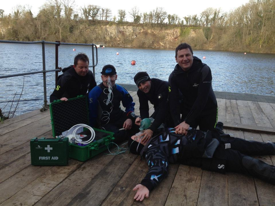 PADI Rescue Diver training
