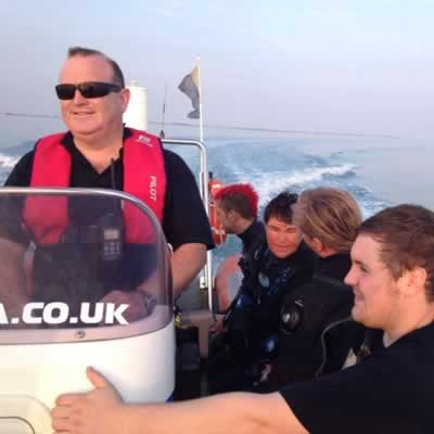 Luis Wreck Dive - 18m @ Southsea Marina
